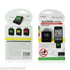 Alcohol Tester Nero per iPhone 4 / 4S