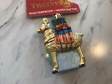 New Shatterproof Old World Ornament Alpaca