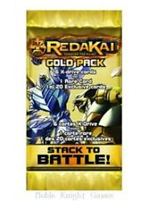 REDAKAI CONQUER THE KAIRU GOLD BOOSTER PACK NEW SEALED