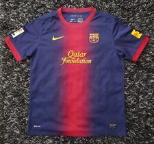 3cadcc7bb Nike FC Barcelona 2012 13 Home Authentic Football Shirt Size XL Boys 13 -15Yrs