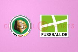 German League Cup DFB-Pokal & FUSSBALL.DE 2010-2011 Sleeve Soccer Patch / Badge