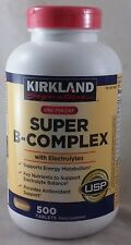 jlim410: Kirkland Signature Super B Complex w/ Electrolytes 500 Tablet Free Ship