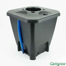 Oxypot Single DWC System - 19 Litre  Complete Kit Pipes & Pump Hydroponics