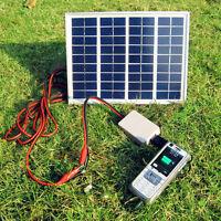 30W 20W 10W 5W 18V Car Boat Camping Solar Panel Battery Smart Caravan Camper