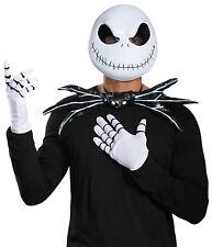 Jack Skellington Kit Adult Costume Kit Gloves Mask Nightmare Before Christmas