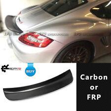 For Porsche 06-12 Cayman 987 EP Style Carbon Rear Ducktail Heckspoiler Spoiler