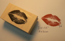 P6 Kiss Rubber Stamp
