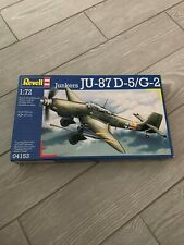 Revell airplanes 1/72 - 5 model kits