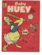Baby Huey #15 1957 Australian Baseball Cannonball Cover!