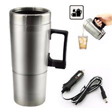 Electric 12V Car Vehicle Travel Milk Tea Coffee Water Bottle Cup Warmer Heater
