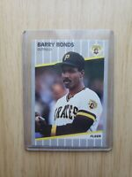 1989 Fleer Barry Bonds Pittsburgh Pirates #202 Baseball Card