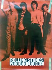 ROLLING STONES VOODOO LOUNGE 1994 VINTAGE ORIG MUSIC RECORD STORE PROMO POSTER