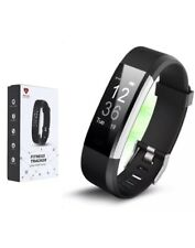 IDO Plus Smart Fitness Activity Tracker OLED Touch Screen Black ID115HR  - Used