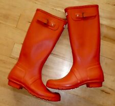 Hunter Original Tall Headliner Wellies Wellington Boots. Limited Edition