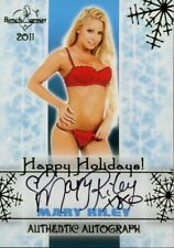 Benchwarmer 2011 Happy Holidays Autograph Mary Riley