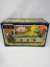 Vintage Star Wars Jabba the Hutt Playset and 5 Action Figures from the Return of the Jedi by Kenner