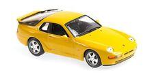 Minichamps maxichamps 940062321-porsche 968 cs – 1993 yellow 1/43
