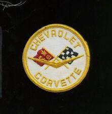 1970s Chevrolet Corvette Patch - Vintage Race/Racing - NASCAR, NHRA, Indy