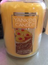 Yankee candle Warm Pineapple Upside Down Cake USA