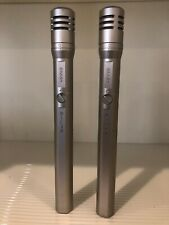 Pair of Shure SM81 Small Diaphragm Condenser Microphones