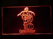 J462R Captain Morgan Spiced Rum For Pub Bar Display Decor Light Sign