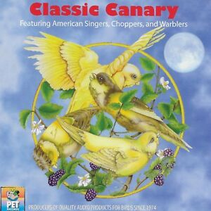 Classic Canary Bird Training Audio CD (American Singers, Choppers, Warblers) NEW