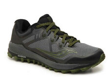 Saucony Peregrine 8 Men's Running Shoes Grey/Black/Green Size 9 M