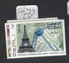 DUBAI   (P1404B) TELECOMS  SG 374-6   MNH