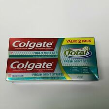 Colgate Fresh Mint Strips | TWO Pack Toothpaste | New