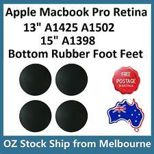 "4PCS Bottom Rubber Feet Foot For MacBook Pro Retina 15"" A1398 13"" A1425 A1502"