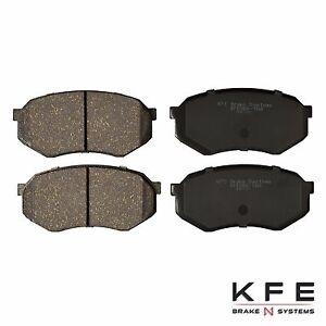 FRONT Premium Ceramic Disc Brake Pad For Toyota Tacoma 5 Lug Cressida KFE589