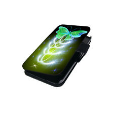 Schutz Hülle für Samsung Galaxy S8 Tasche Flip Case Bumper Schmetterling Motiv
