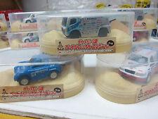 Wonda x Asahi - Rally Car Collection - 3 items 1 set A - Mini Toy Car Jp Rare