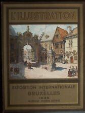 Revue l'Illustration Hors série Exposition Internationale de Bruxelles 1935