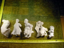 5 x excavated vintage damaged doll parts age 1890 altered Art mixed media B 705