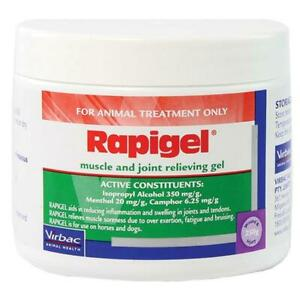 Rapigel Dogs & Horses Muscle & Joint Relieving Gel Tub 250g (R0520)
