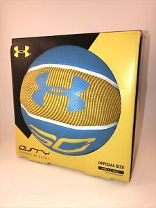 Under Armour Stephen Curry Official Size Basketball Steph Curry Outdoor Ball NEW