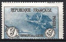 "FRANCE STAMP TIMBRE 155 "" ORPHELINS LA MARSEILLAISE 5F+5F "" NEUF x TB  P196"