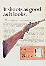 1971 Daisy Safari Mark I Mark 1 Air Gun Trap Target Kit Comic Vintage Print Ad