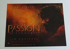 The Passion Of The Christ 2004 Original UK Mini Quad Cinema Poster