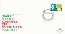 (40168) Netherlands FDC Statute for the Kingdom 1969