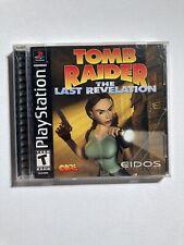 New listing Tomb Raider: The Last Revelation (Sony PlayStation 1, 1999)