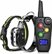 Ankace Shock Collar for Dogs with Remote Dog Training Collar Rechargeable No Bar