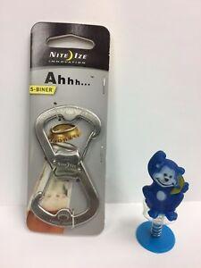 Nite Ize Ahhh... S-biner with Bottle Opener Stainless Steel SBO-03-11
