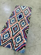 Vintage Moroccan Boujad Rug berber carpets handmade azilal carpets
