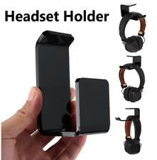 Acrylic Headset Stand Hanger Tape Hook Under Desk Headphone Stick holder Mount #