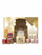Yankee Candle Christmas Collection Gift Set Beautiful Large 21 Piece
