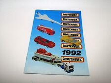 Matchbox Superfast 1992 Catalogue - No Graffiti - Near Mint