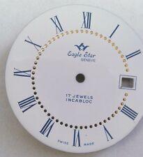 Eaglestar- watch dial for  ETA-Ut 6305 33 mm Roman numbers