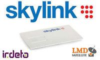 Skylink Card Standard M7 HD IRDETO Slovak and Czech satellite tv channels